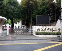 上海松江区方塔小学--36V低压电动伸缩门