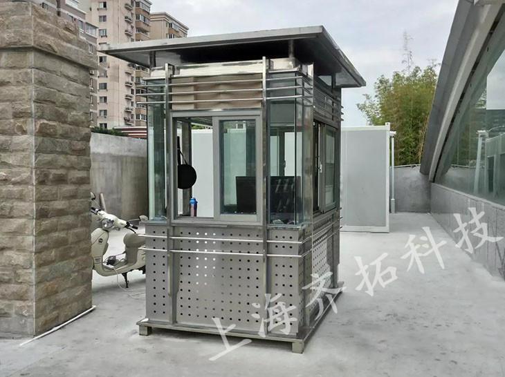 不锈钢岗亭-001