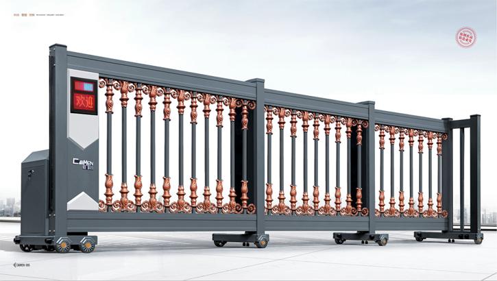 分段门,电动门,伸缩门,平移门,电动伸缩门,电动平移门